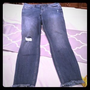 Level 99- Madison Midrise Skinny Jeans, size 29